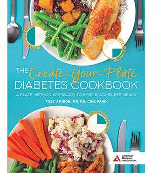Cover of the Create Your Plate Diabetes Cookbook