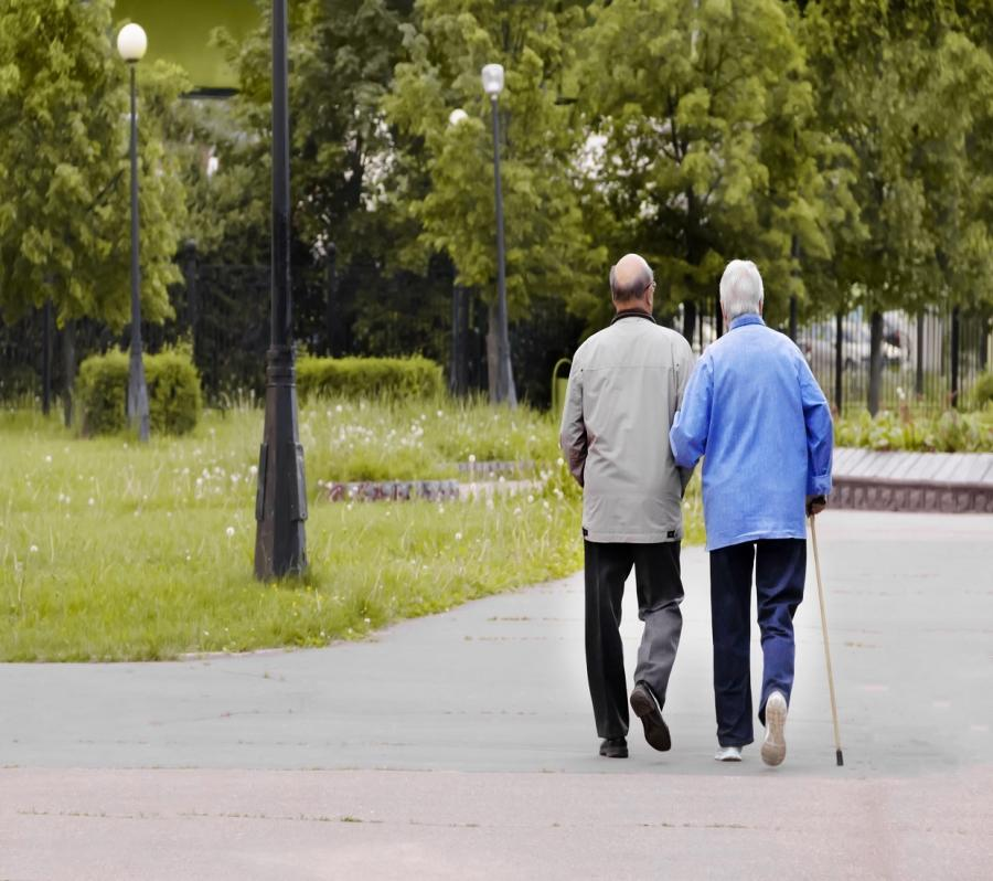 two older people